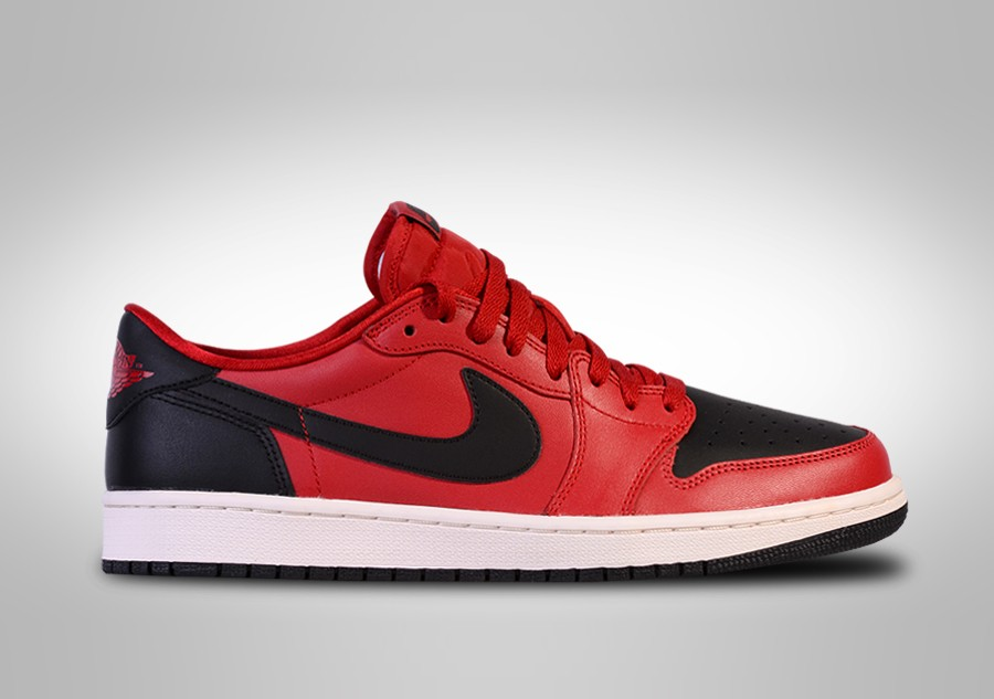 uk availability 64580 12f3b NIKE AIR JORDAN 1 RETRO LOW OG BRED