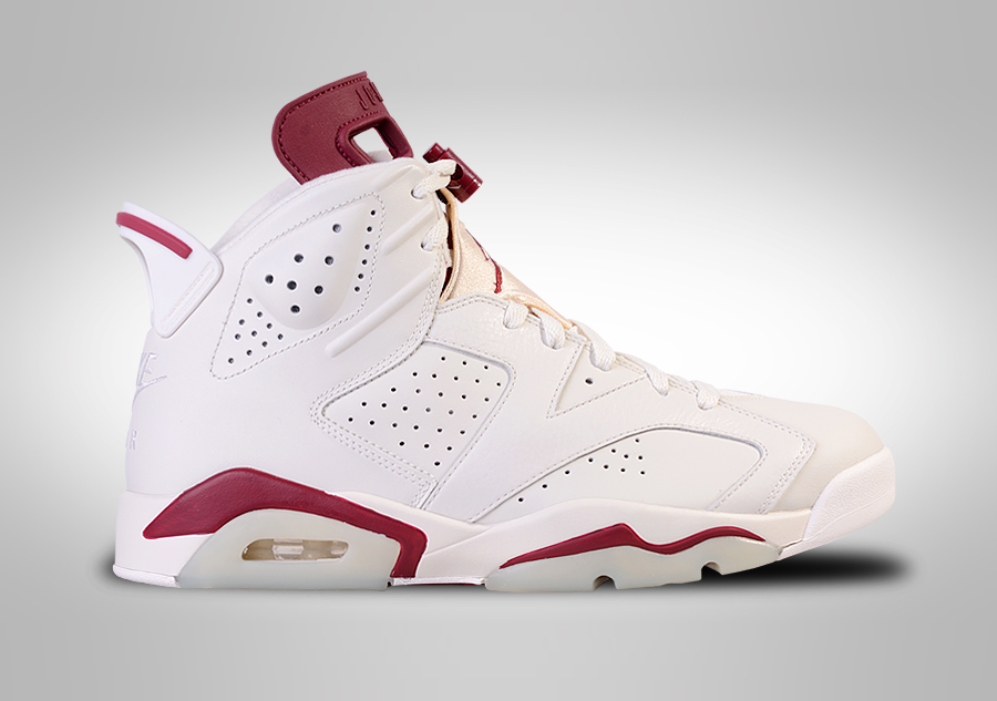 NIKE AIR JORDAN 6 RETRO MAROON BG (SMALLER SIZES) pour €127,50 | Basketzone.net