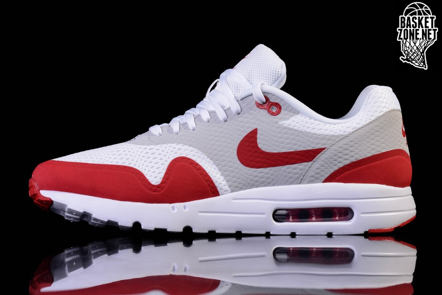 nike taquets d'air de zoom - NIKE AIR MAX 1 ULTRA ESSENTIAL VARSITY RED pour �112,50 ...