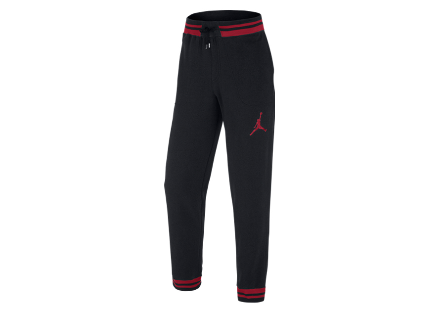 check out 21e4c c5f49 NIKE AIR JORADAN THE VARSITY SWEATPANTS BLACK GYM RED pour €57,50    Basketzone.net