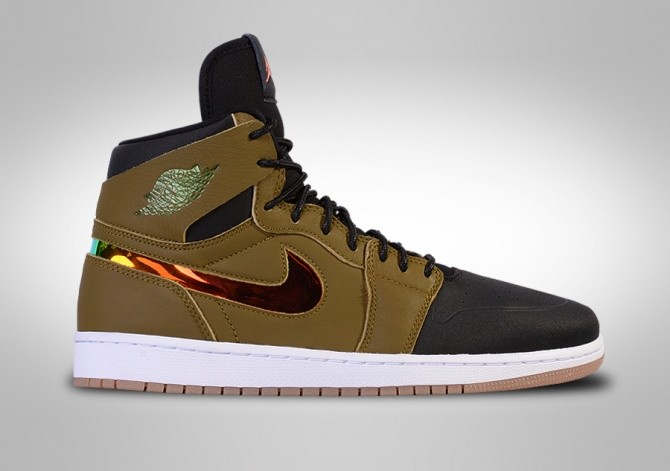 NIKE AIR JORDAN 1 RETRO HIGH NOUVEAU 'MILITIA GREEN'