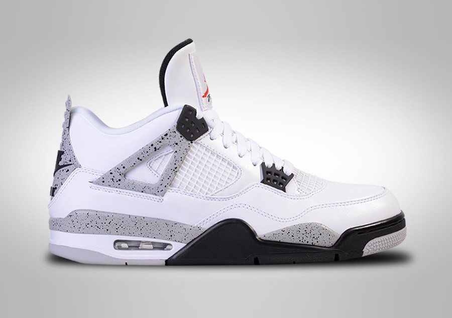 buy popular 78668 9a254 NIKE AIR JORDAN 4 RETRO OG  WHITE CEMENT
