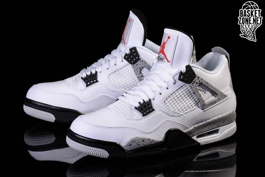 air jordan 4 all white