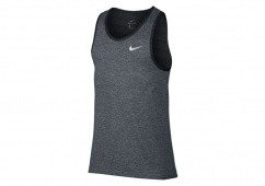 NIKE HYPER ELITE BASKETBALL TANK COOL GREY