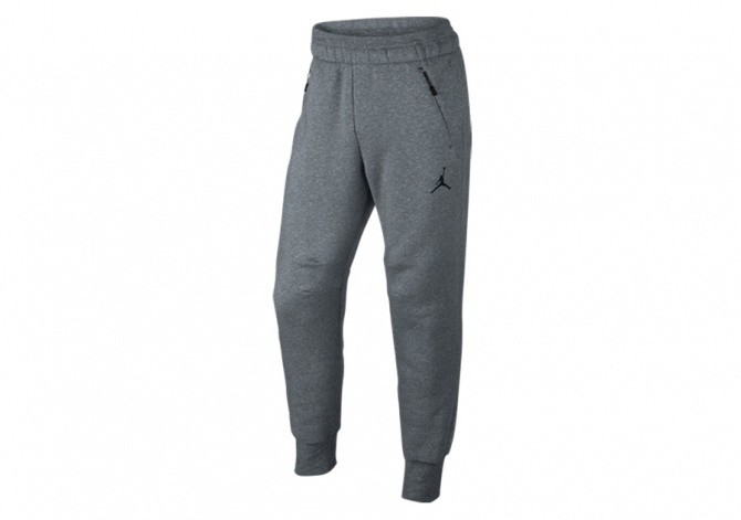 NIKE AIR JORDAN ICON FLEECE PANT COOL GREY
