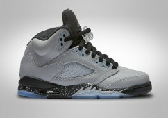 NIKE AIR JORDAN 5 RETRO GG WOLF GREY