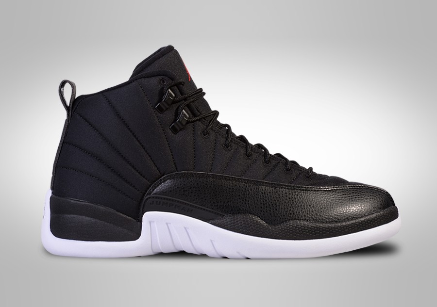 9464ecb3c61 NIKE AIR JORDAN 12 RETRO BLACK NYLON price €187.50 | Basketzone.net