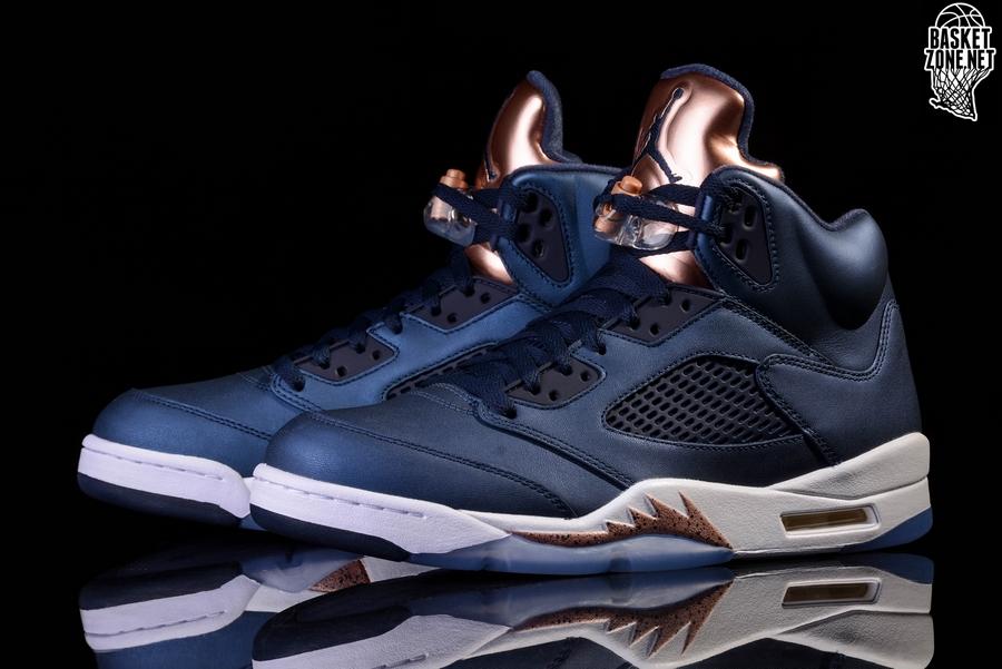 Retro Jordan 5 Per Air Bronze Nike B1qtwxnn