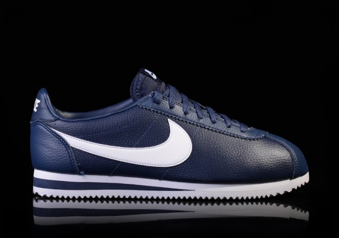 best sneakers 77d9d 37f05 NIKE CLASSIC CORTEZ LEATHER MIDNIGHT NAVY/WHITE für €82,50 ...