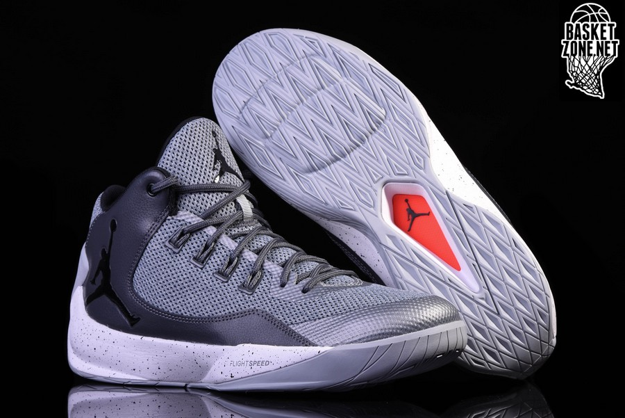 pretty nice eff10 505f6 NIKE AIR JORDAN RISING HIGH 2 COOL GREY