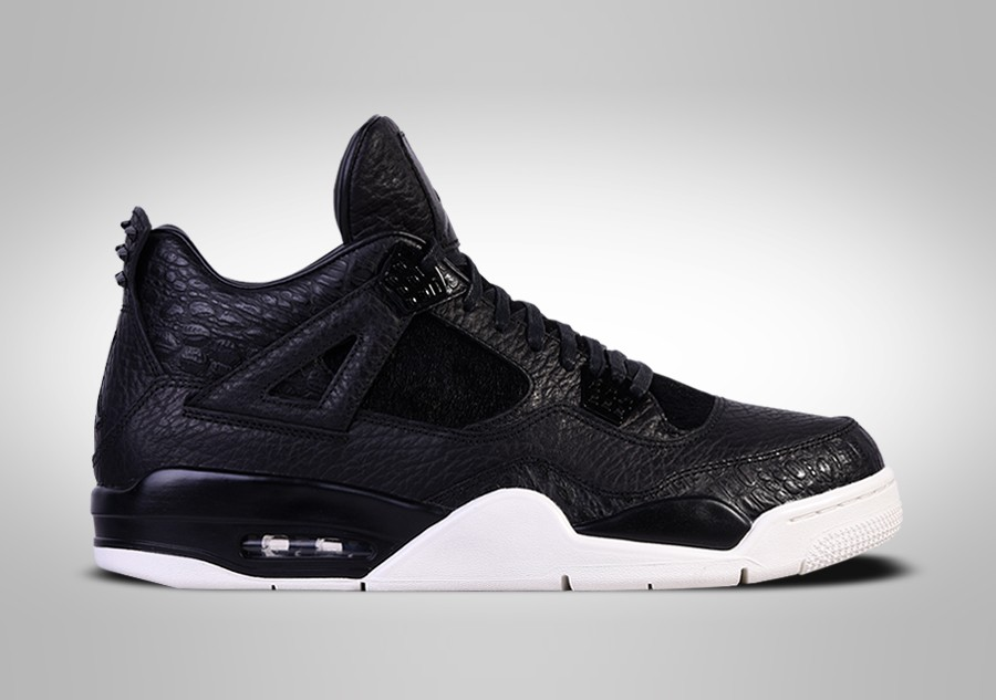 84f7ee195bed1b NIKE AIR JORDAN 4 RETRO PREMIUM BLACK PONY HAIR PINNACLE price ...