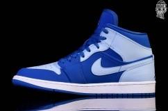 online retailer 0e03d a7370 NIKE AIR JORDAN 1 RETRO MID ICE BLUE. 554724-400