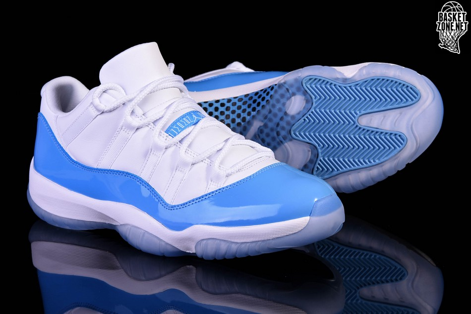 b71b0d5e028c NIKE AIR JORDAN 11 RETRO LOW UNC NORTH CAROLINA BLUE per €167