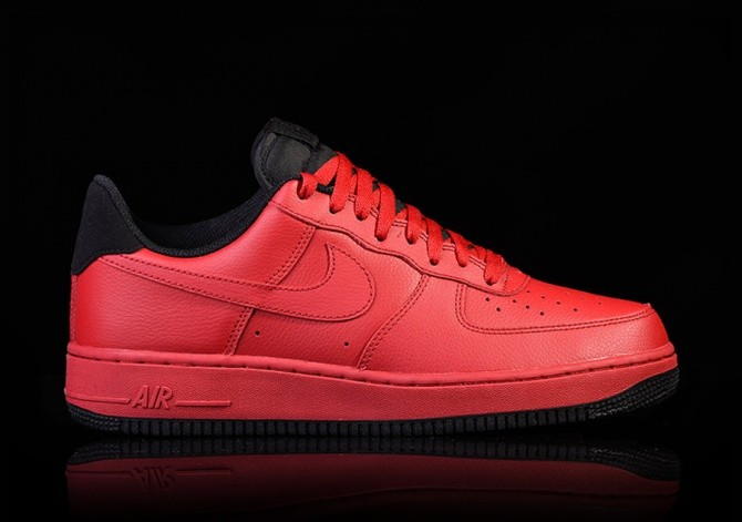 insidesneakers • Nike Air Force 1 High Gym Red Black Sail