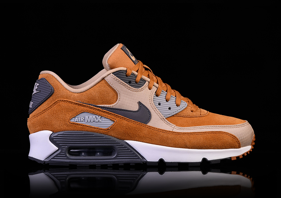 check out 2e260 9e257 NIKE AIR MAX 90 PREMIUM DESERT OCHRE pour €122,50   Basketzone.net