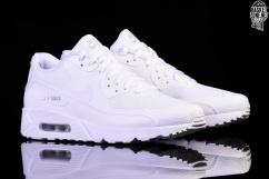 Nike AIR MAX 90 Ultra 2.0 Essential Triple White 875695 101 Men Running