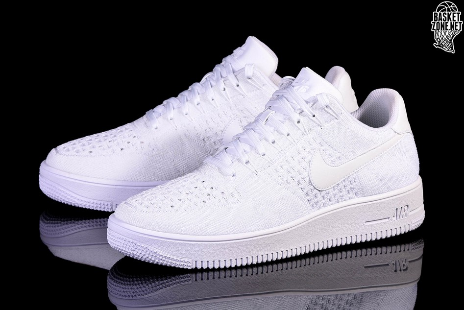 nike air force 1 ultra flyknit low blanc