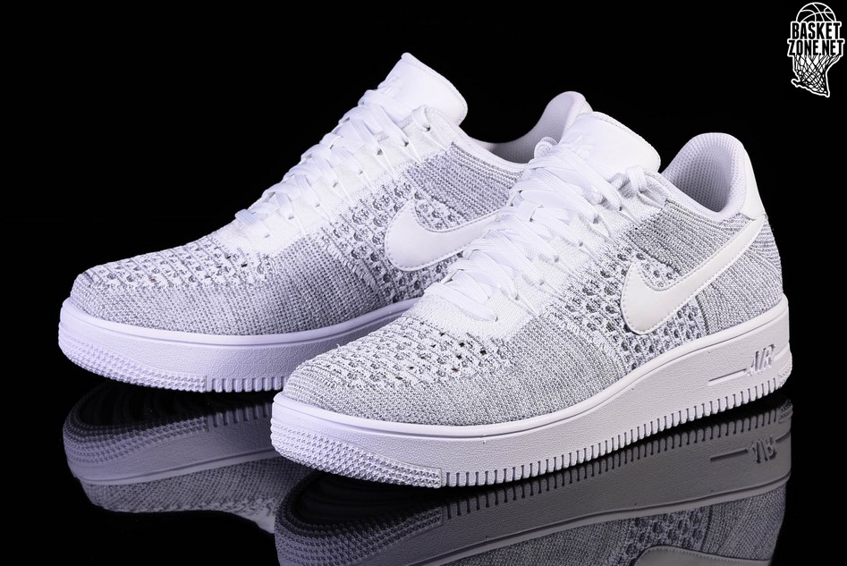 Nike AIR FORCE 1 ULTRA FLYKNIT LOW Gris a6vgbUKr0