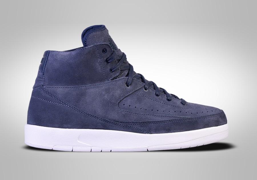 online retailer c1ea7 6c9f7 NIKE AIR JORDAN 2 RETRO DECON THUNDER BLUE