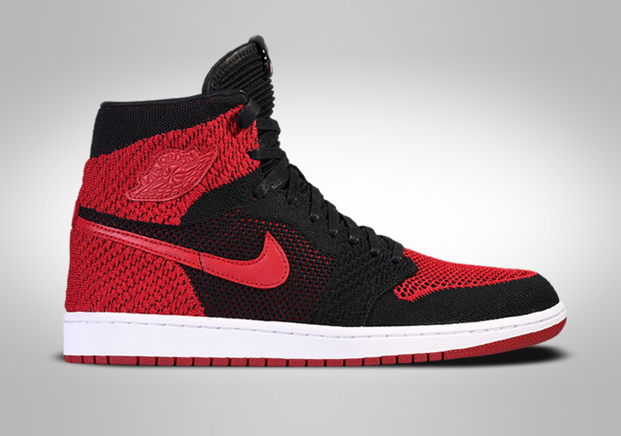 the latest e3033 a57e9 NIKE AIR JORDAN 1 RETRO HIGH FLYKNIT BANNED BG (SMALLER SIZE) pour €112,50    Basketzone.net