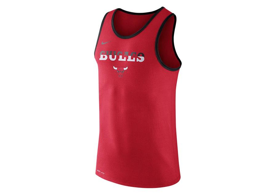 info for 385fc a1283 NIKE NBA CHICAGO BULLS DRY LOGO TANK UNIVERSITY RED