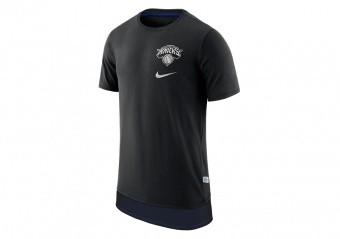 NIKE NBA NEW YORK KNICKS TEE ENGY MESH DH BLACK