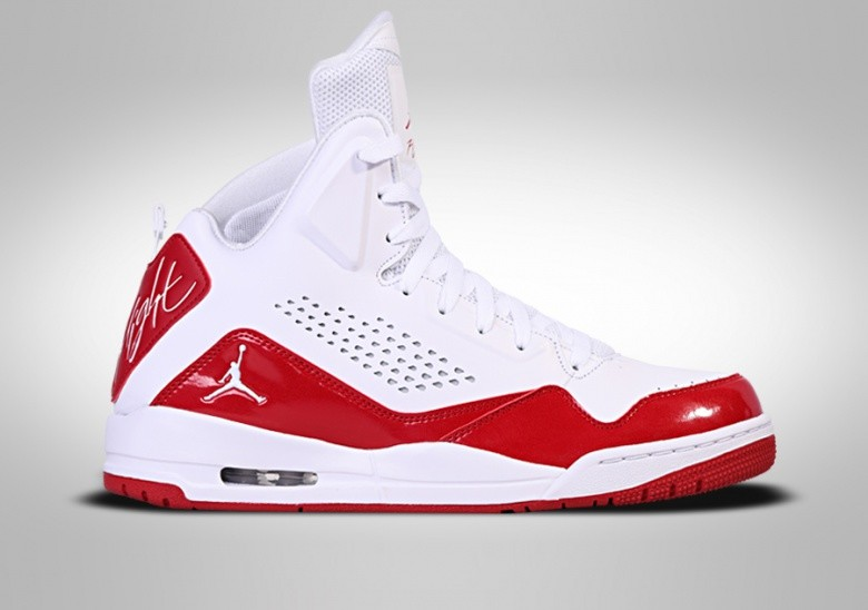 NIKE AIR JORDAN SC-3 WHITE FIRE RED