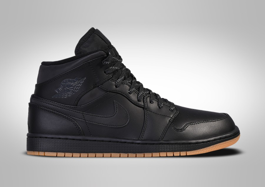 half off 15832 ca6e9 NIKE AIR JORDAN 1 RETRO MID WINTERIZED BLACK pour €102,50 ...