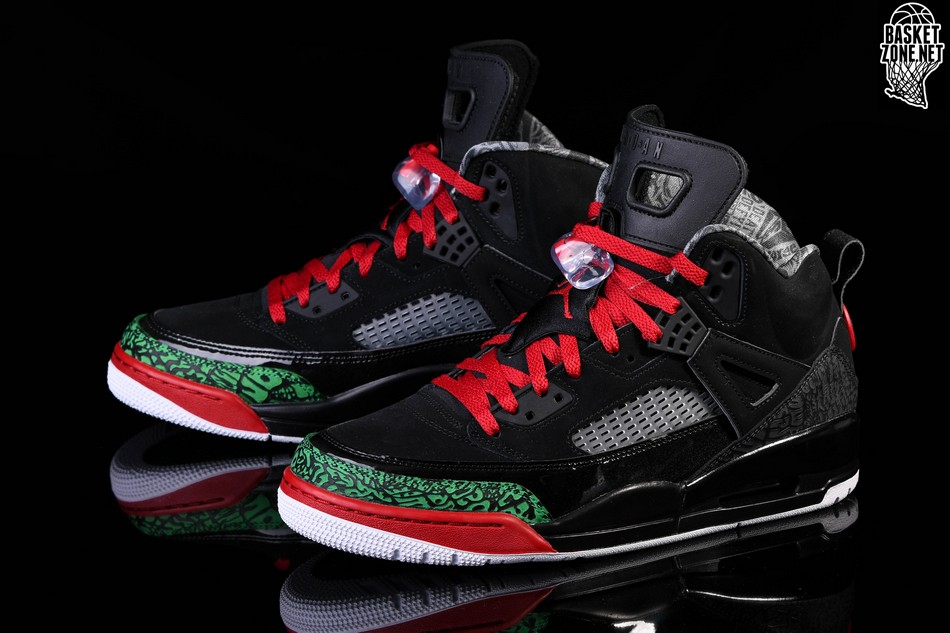 save off 78388 ed990 ... low price nike air jordan spizike black red poison green 1a3e0 05340
