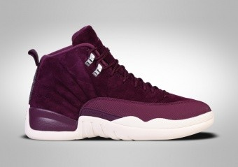 NIKE AIR JORDAN 12 RETRO BG BORDEAUX