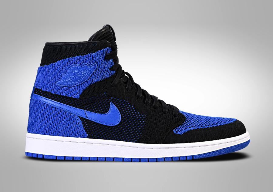 promo code b8827 5972a NIKE AIR JORDAN 1 RETRO HIGH FLYKNIT ROYAL BLUE pour €135,00    Basketzone.net