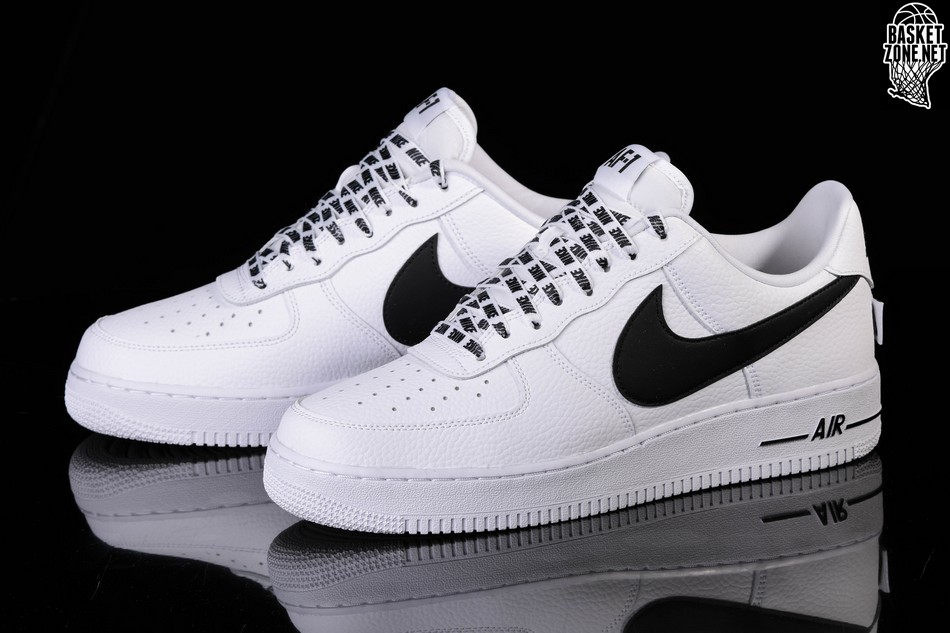 NIKE AIR FORCE 1 '07 LV8 NBA PACK WHITE BLACK price €97.50 ...