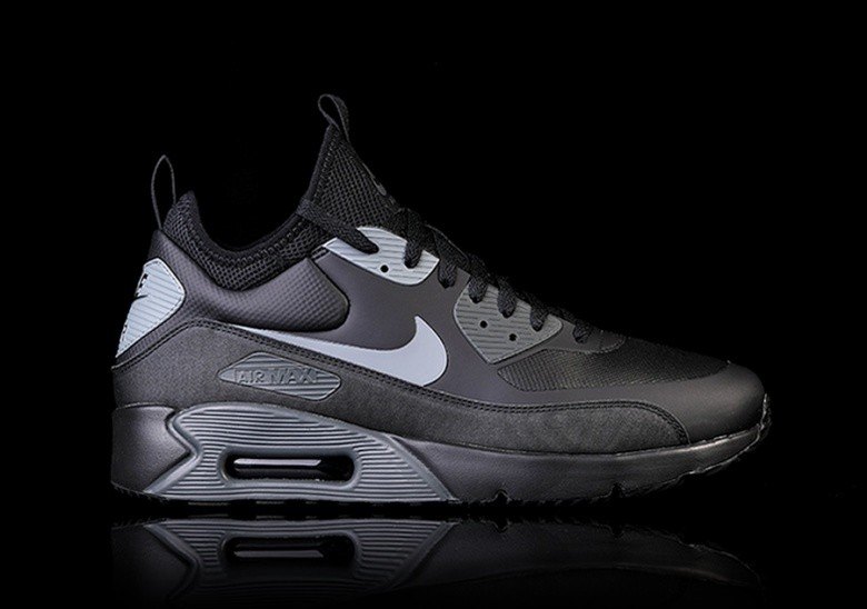 cheaper 19907 a51a8 NIKE AIR MAX 90 ULTRA MID WINTER BLACK per €132,50 ...