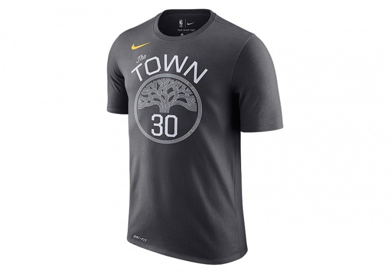 NIKE NBA GOLDEN STATE WARRIORS STEPHEN CURRY DRY TEE ANTHRACITE pour ... 5200aebc4