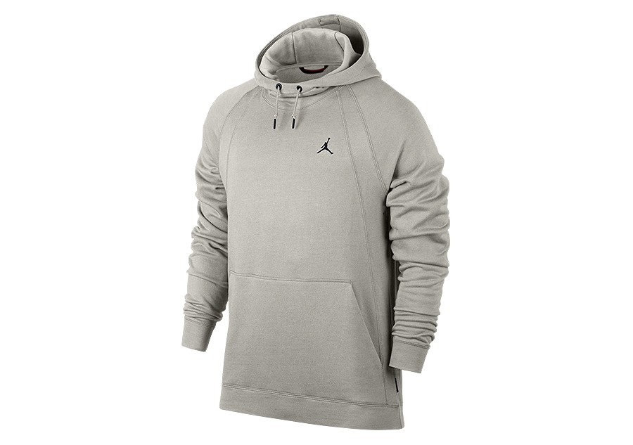 ec9a4e249a08 NIKE AIR JORDAN WINGS FLEECE PULLOVER HOODIE LIGHT BONE per €82