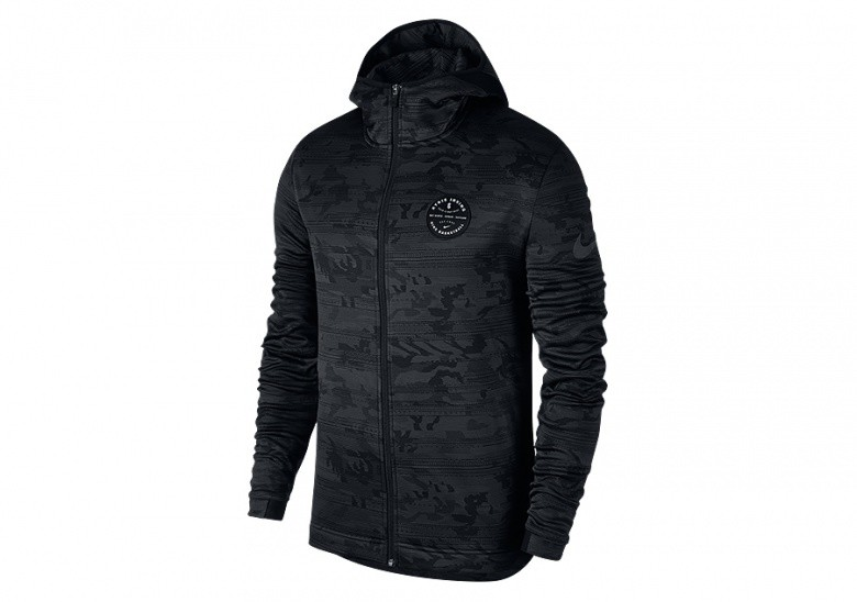 NIKE DRY KYRIE SHOWTIME HOODIE ANTHRACITE