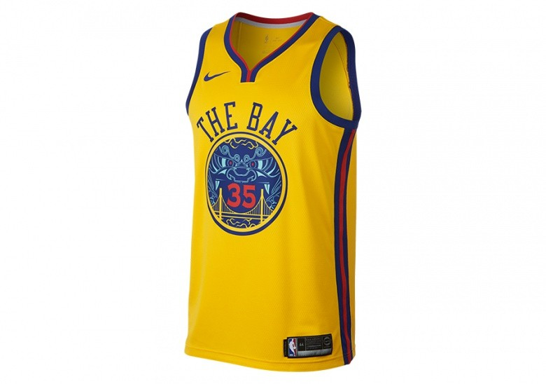 becf5f3108f NIKE NBA KEVIN DURANT GOLDEN STATE WARRIORS CITY EDITION SWINGMAN JERSEY  AMARILLO