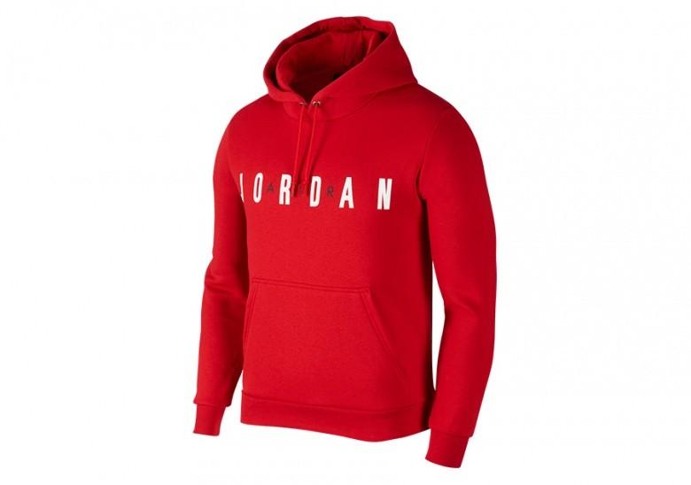 954e95d4033 cheap nike air jordan flight fleece pullover hoodie gym red 33ba5 6918a