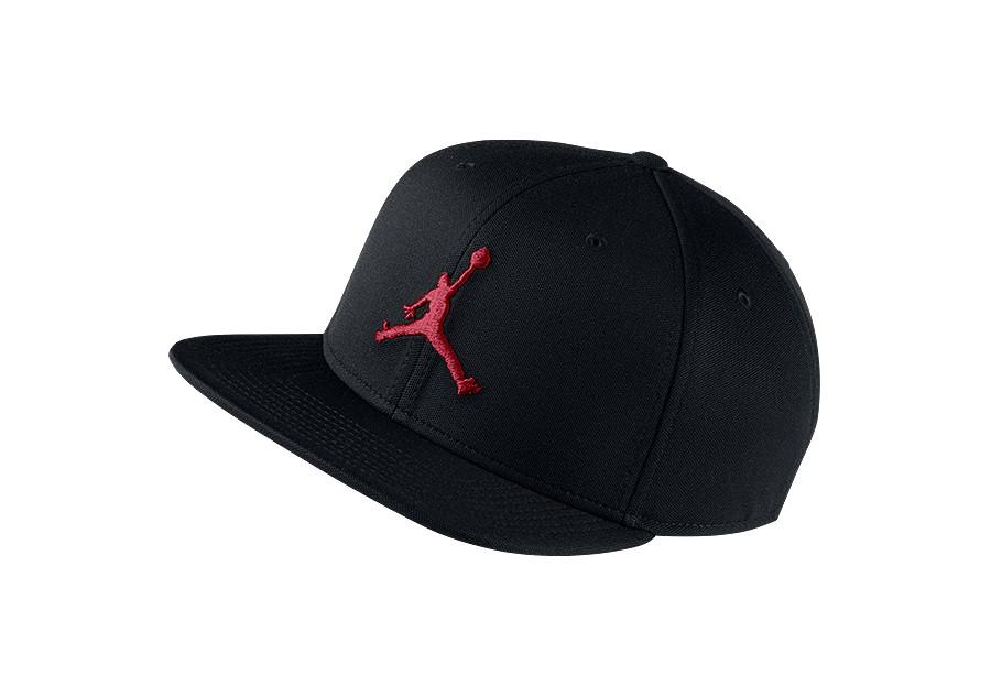 a6ee2dbac50 NIKE AIR JORDAN JUMPMAN SNAPBACK HAT BLACK GYM RED price €25.00 ...