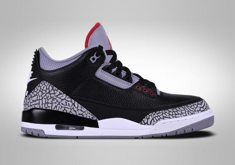sports shoes fff50 855fc NIKE AIR JORDAN 3 RETRO BLACK CEMENT price €195.00 ...