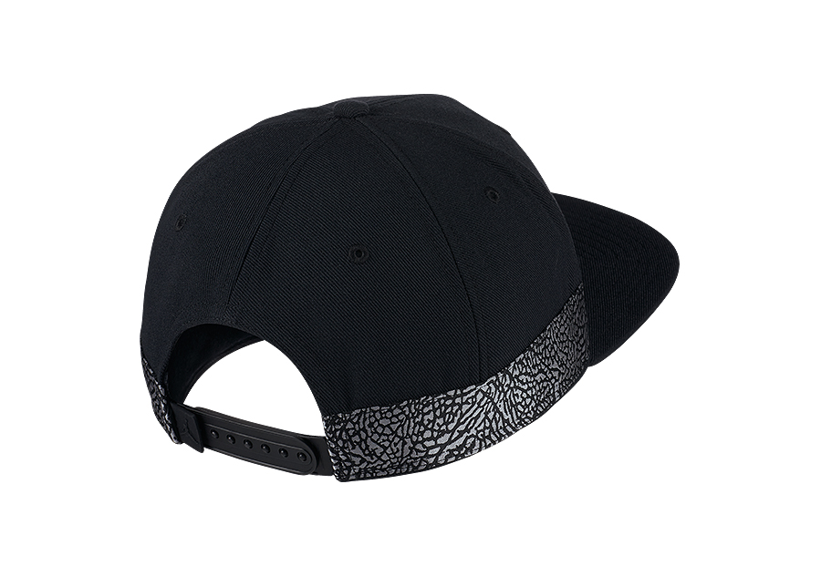 484db020974 NIKE AIR JORDAN JUMPMAN PRO AJ 3 CAP BLACK price €32.50