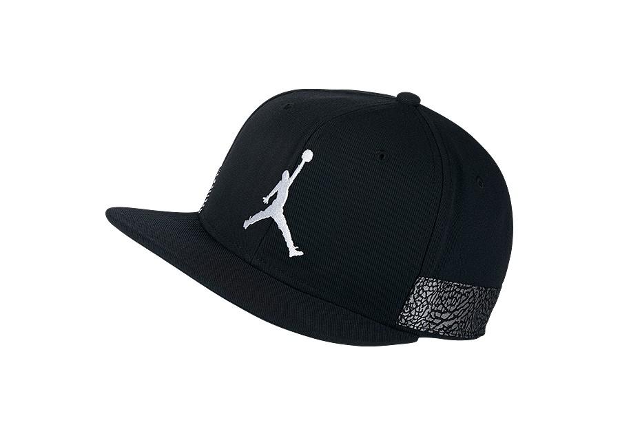NIKE AIR JORDAN JUMPMAN PRO AJ 3 CAP BLACK price €32.50  7d36d1ff289e