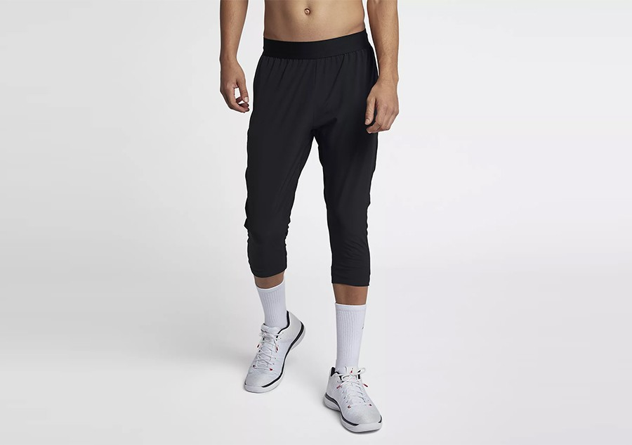 ad248aeba10b NIKE AIR JORDAN ULTIMATE FLIGHT BASKETBALL PANTS BLACK price €77.50 ...