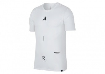 NIKE AIR JORDAN GRAPHIC TEE WHITE