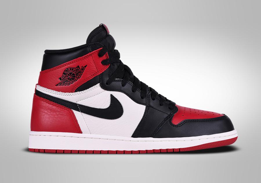 chaussure nike air jordan retro 1 rouge blanc