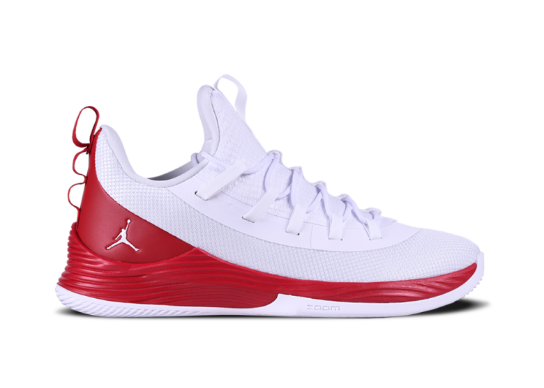 newest 5ca66 f8293 AIR JORDAN ULTRA.FLY 2 LOW. WHITE FIRE RED. JIMMY BUTLER. £100.00