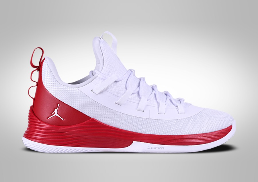 low priced 137ef d0c6d NIKE AIR JORDAN ULTRA.FLY 2 LOW WHITE FIRE RED JIMMY BUTLER