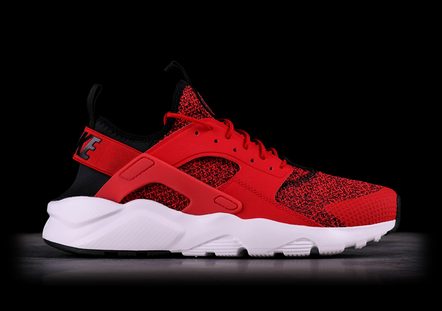 NIKE AIR HUARACHE RUN ULTRA SE UNIVERSITY RED pour \u20ac125,00