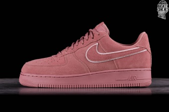 huge selection of a3695 9692d NIKE AIR FORCE 1 07 LV8 SUEDE RED STARDUST