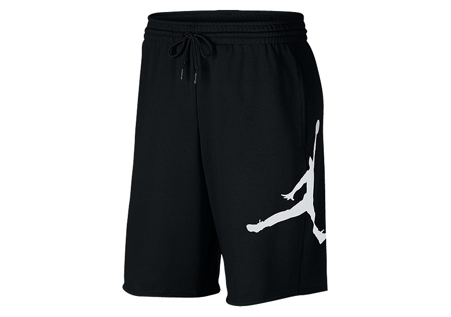 d8ba3976c34e NIKE AIR JORDAN JUMPMAN FLEECE SHORTS BLACK price €37.50 ...